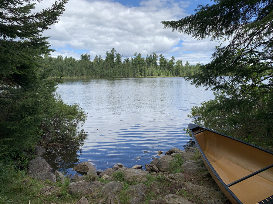 Kroft Lake to Rum Lake Portage 4