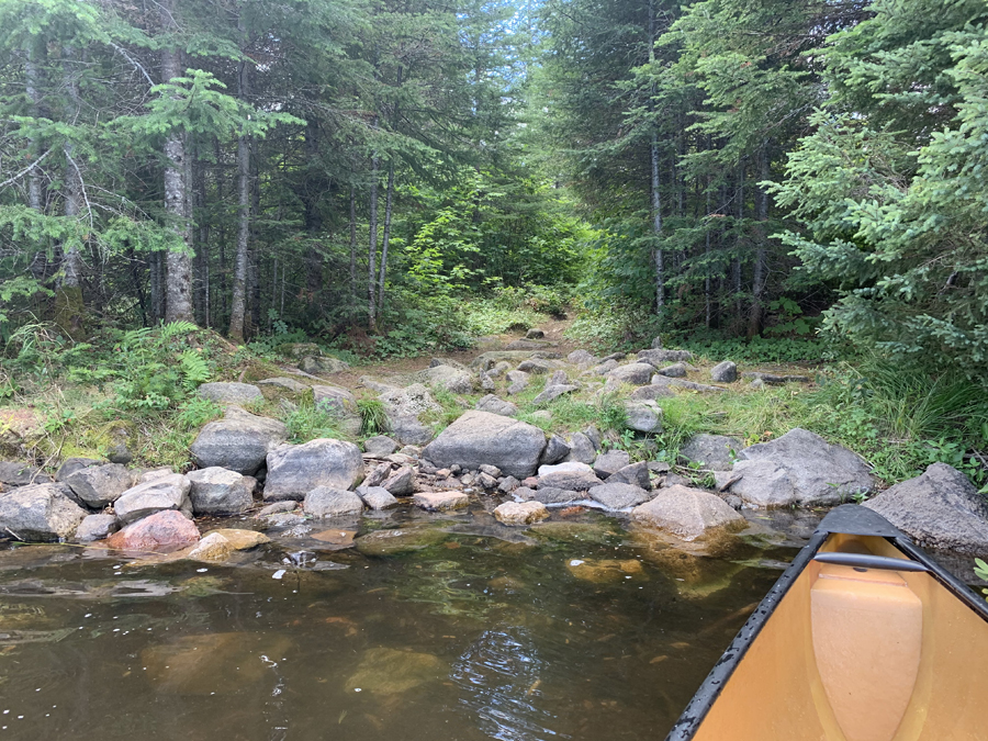 Kroft Lake to Rum Lake Portage 1