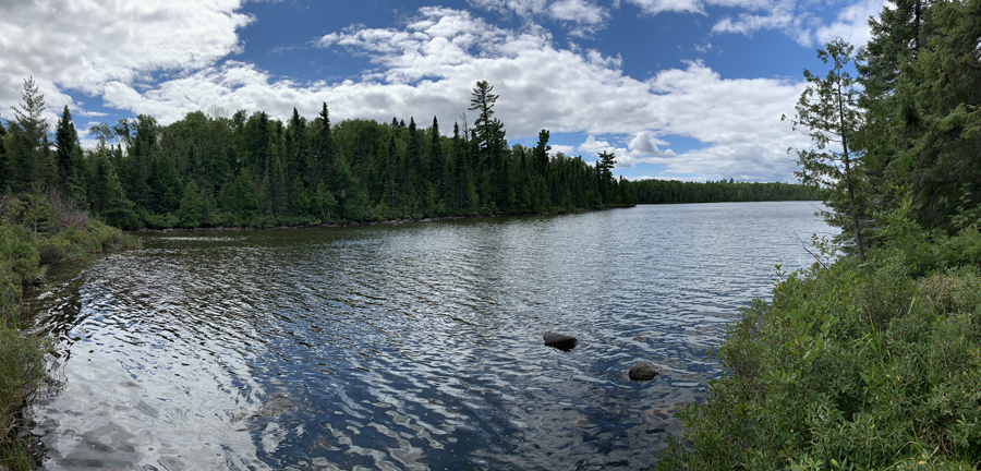 Kroft Lake to Rum Lake Portage 2