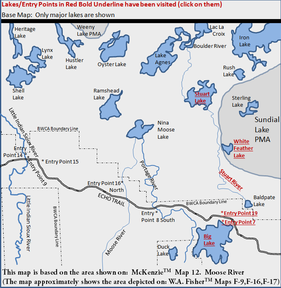 McKenzie Map 12 - Moose River